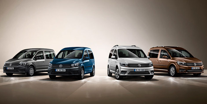 новый Volkswagen Caddy 4