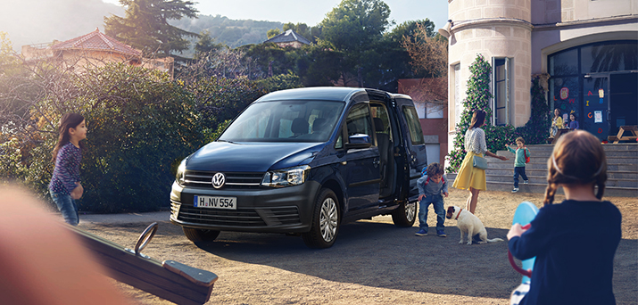 Новый Volkswagen Caddy