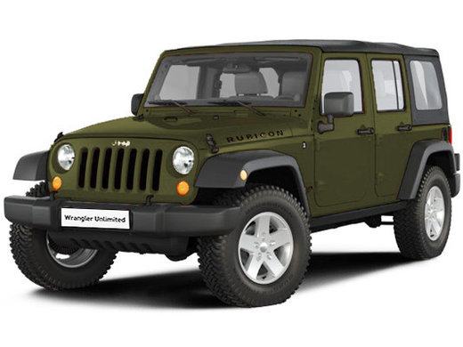 Jeep Wrangler Rubicon 3.6L/284 5AT 5D