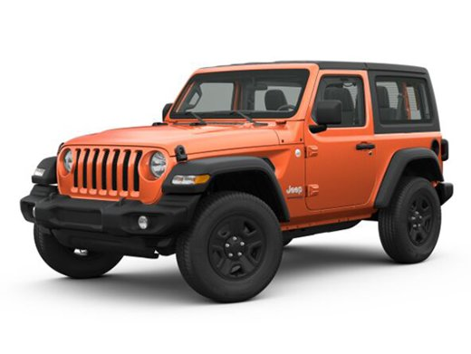 Jeep Wrangler Rubicon 2.0T/272 8АТ 3D