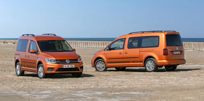 Новые Volkswagen Caddy и серия автомобилей Т6