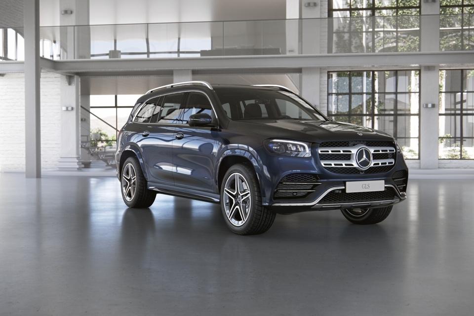 Mercedes-Benz GLS 400 d Premium RUS 3.0TD/330 9AT 5D 4WD