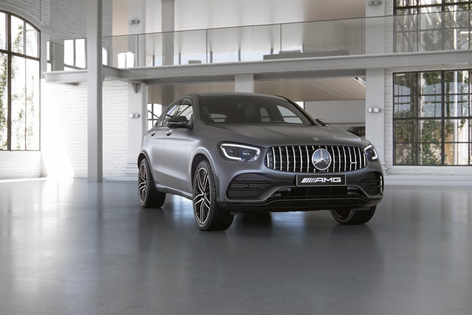 Mercedes-Benz GLC 43 AMG Coupe 3.0T/390 9AT 5D 4WD