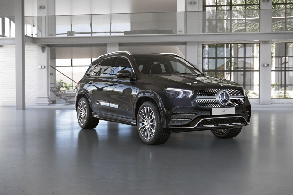 Mercedes-Benz GLE 400 d Luxury RUS 3.0TD/330 9AT 5D 4WD