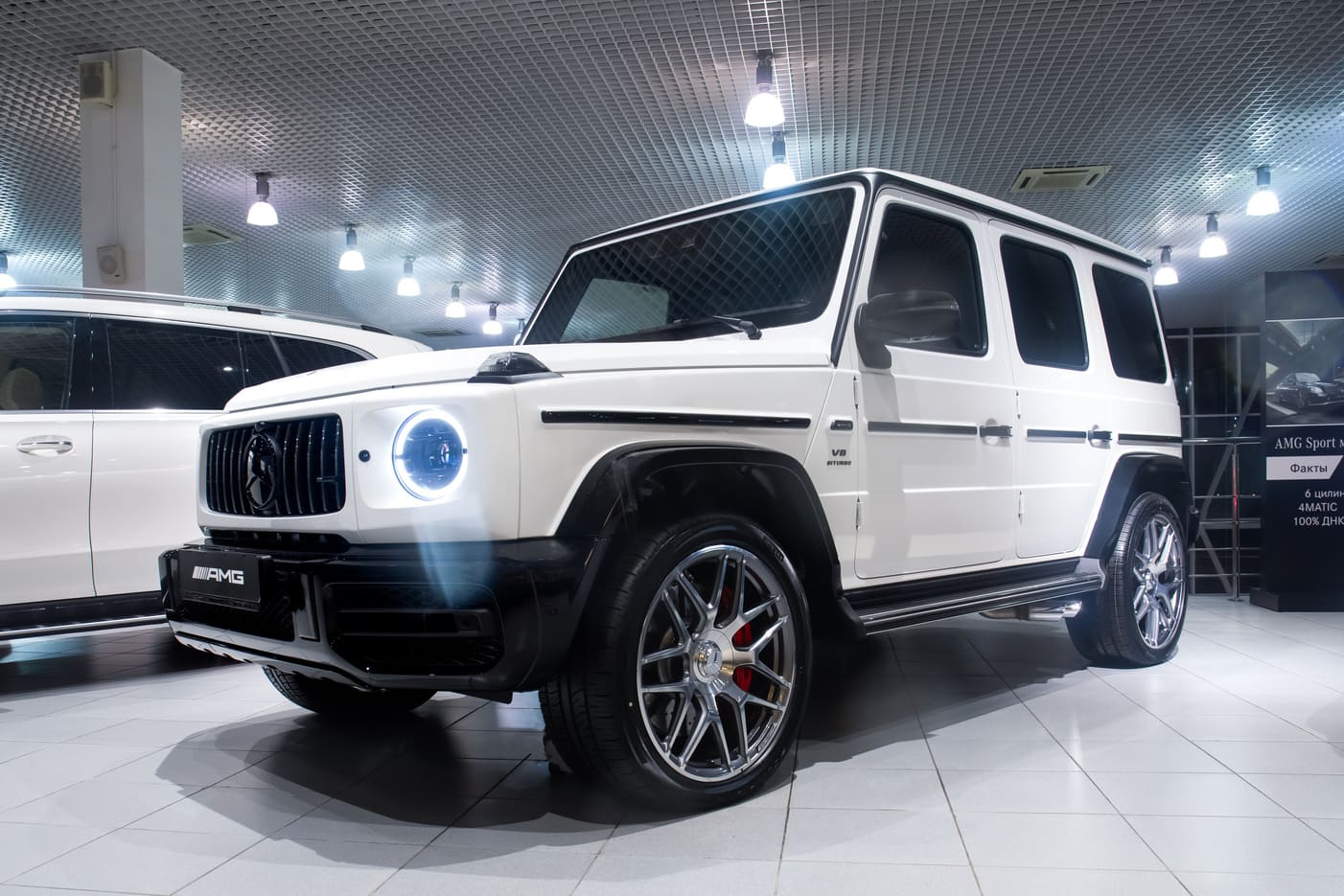 Mercedes-Benz G-Класс G 63 AMG 4MATIC