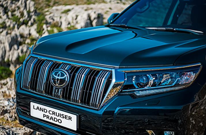 Новый Land Cruiser Prado в Major Major Auto Новости