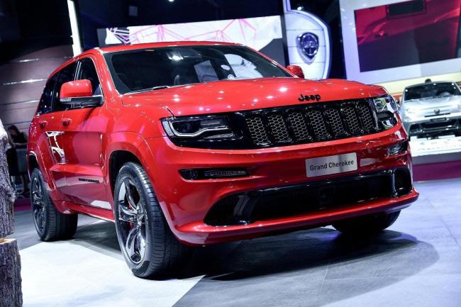 Jeep red vapor
