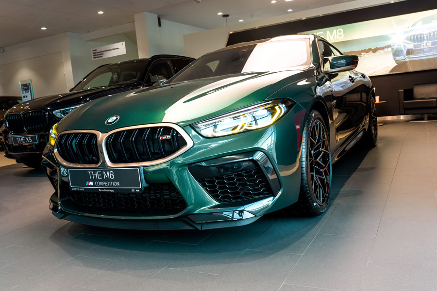 BMW M8 Gran Coupe Competition First Edition 4.4/625 8AT 5D