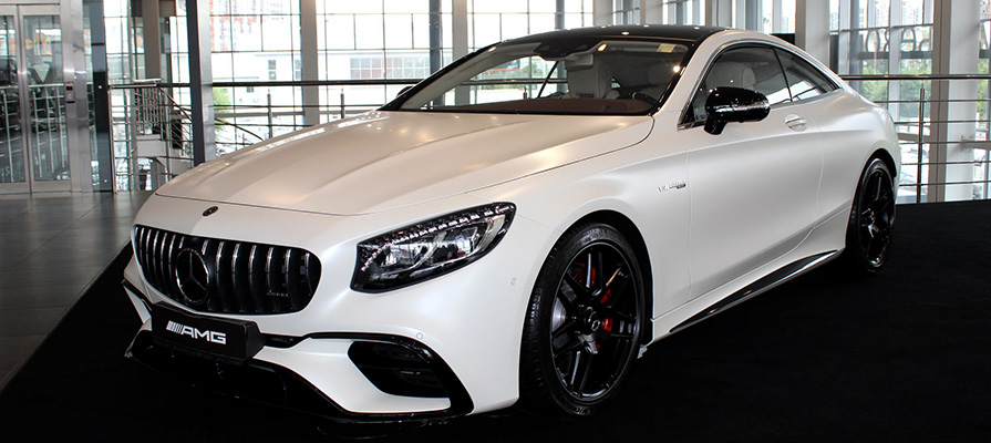 Mercedes-AMG S 63 Coupe 4MATIC