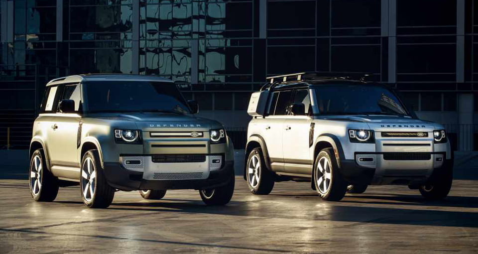 Первые автомобили Land Rover Defender доступны для заказа в Major