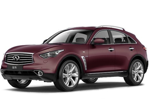 Infiniti QX70 Hi-Tech + Black Lacquer 3.7L/333 7AT